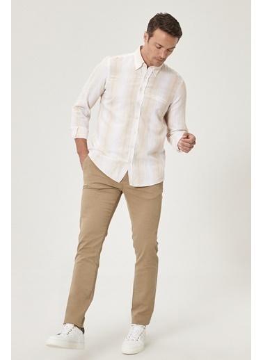 Beymen Business Slim Fit Pantolon 4B0121100026 Vizon